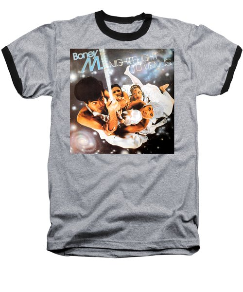 Boney M Night Flight To Venus Baseball T-Shirt