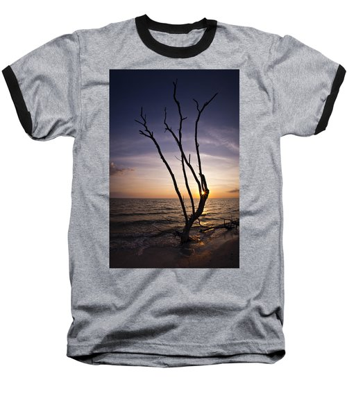 Baseball T-Shirt featuring the photograph Bonita Beach Tree by Bradley R Youngberg