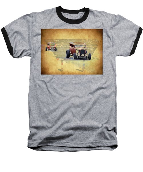 Bonneville Rodz Baseball T-Shirt