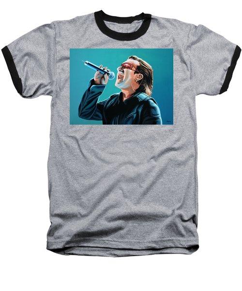 Bono Of U2 Painting Baseball T-Shirt