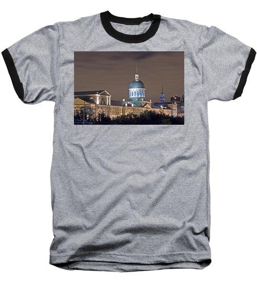 Bonsecours At Night Baseball T-Shirt