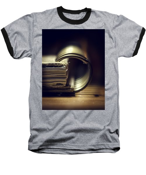 Book Of Secrets Baseball T-Shirt