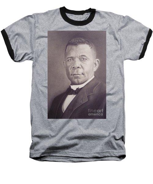 Booker T Washington Baseball T-Shirt by Wil Golden