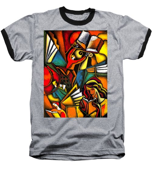 Books Baseball T-Shirt