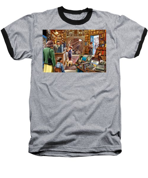 Bookshop Baseball T-Shirt