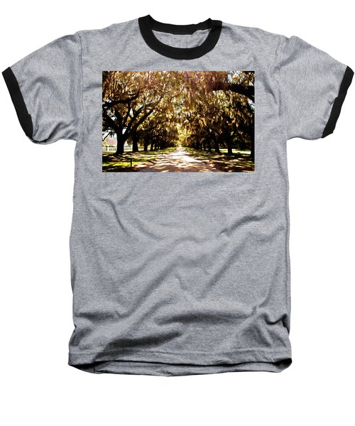 Boone Plantation Baseball T-Shirt by Bill Howard