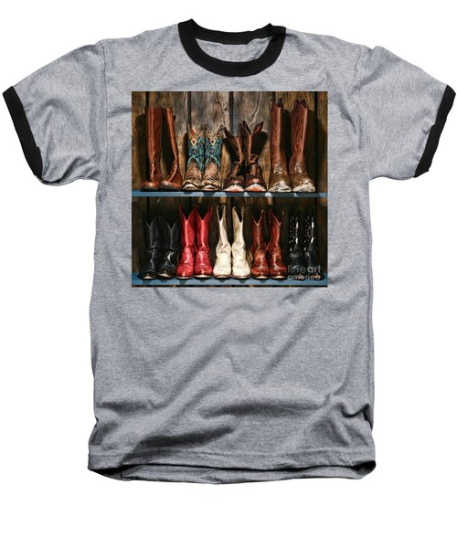 Boot Rack Baseball T-Shirt