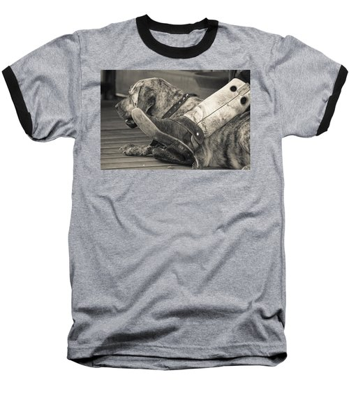 Baseball T-Shirt featuring the photograph Boot Scootin by Steven Bateson