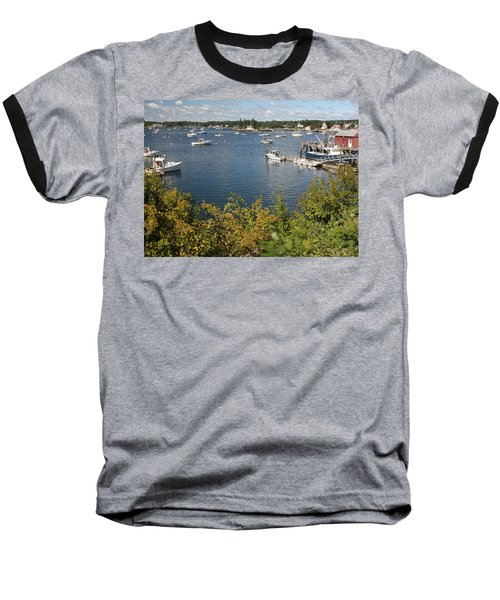 Boothbay Harbor Vista Baseball T-Shirt