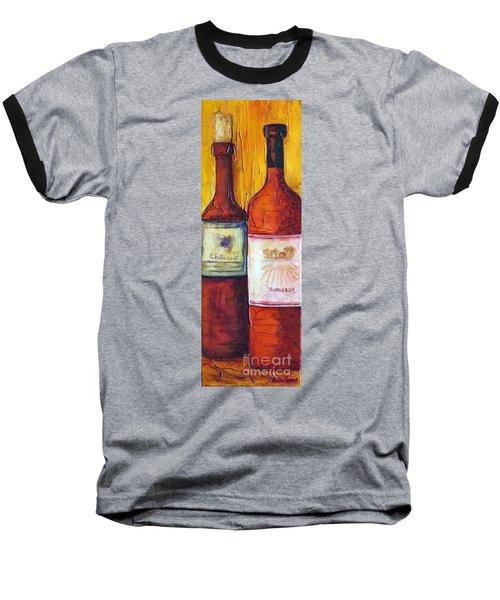 Bordeaux Vino Baseball T-Shirt