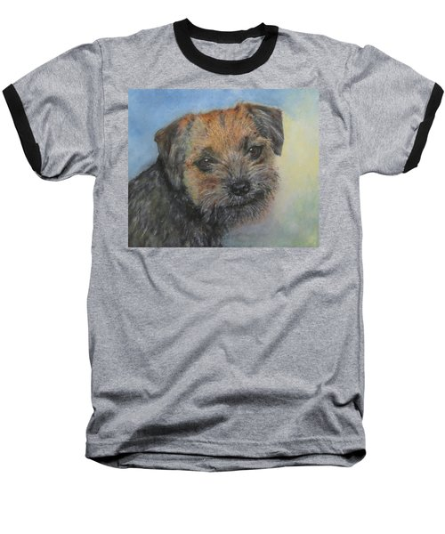Border Terrier Jack Baseball T-Shirt