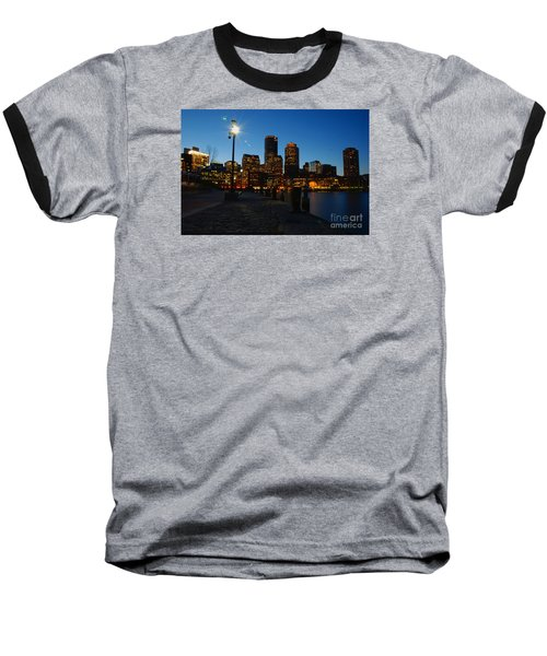 Boston Harbour Baseball T-Shirt