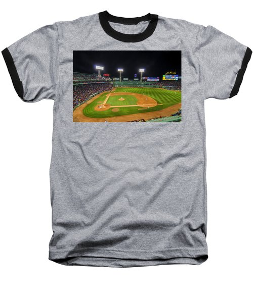 Boston Red Sox And New York Yankees At Fenway Park - Art Baseball T-Shirt
