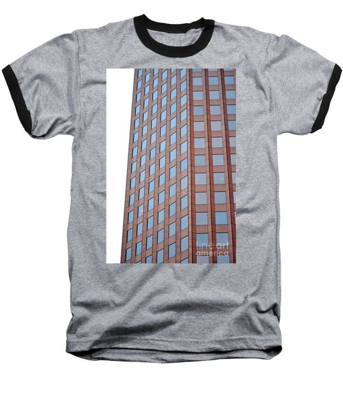 Boston Skyscraper  Baseball T-Shirt