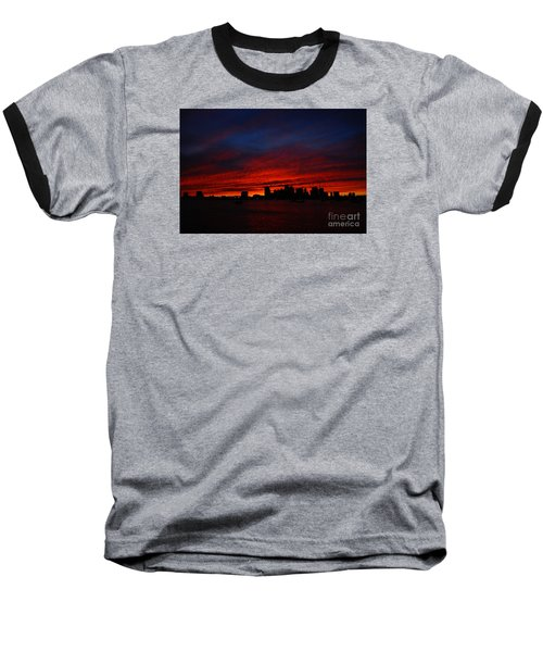 Boston Twilight Baseball T-Shirt