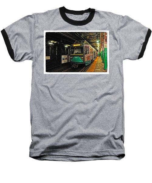 Boston's Mbta Green Line Baseball T-Shirt