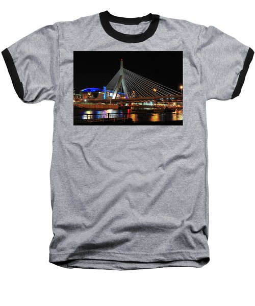 Boston's Zakim-bunker Hill Bridge Baseball T-Shirt