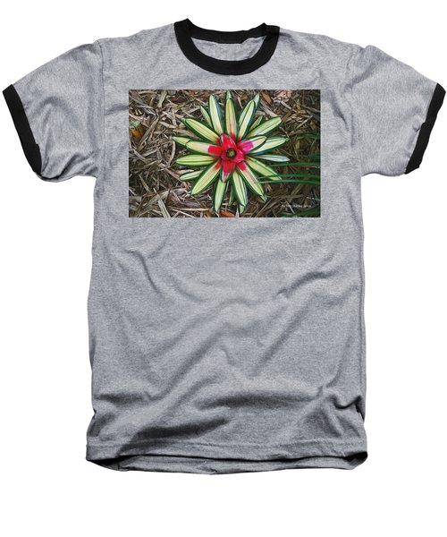 Baseball T-Shirt featuring the photograph Botanical Flower by Tom Janca