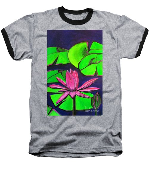 Botanical Lotus 1 Baseball T-Shirt