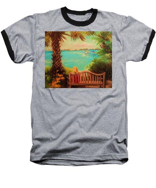 Botanical View Baseball T-Shirt by Yolanda Rodriguez