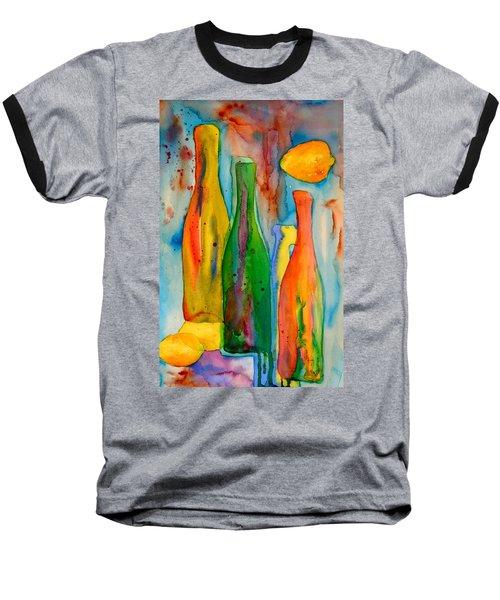 Bottles And Lemons Baseball T-Shirt