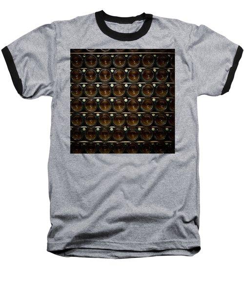 Bottles. Ca Del Bosco Winery. Franciacorta Docg Baseball T-Shirt by Jouko Lehto