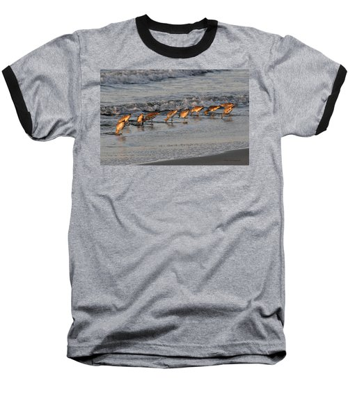 Bottoms Up Baseball T-Shirt by Kay Lovingood