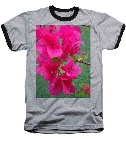 Bougainvillea Dream #2 Baseball T-Shirt