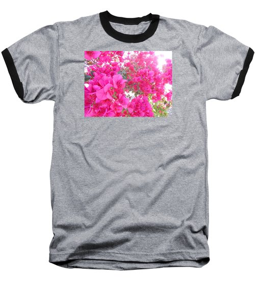 Baseball T-Shirt featuring the photograph Bougainvillea by Kay Gilley