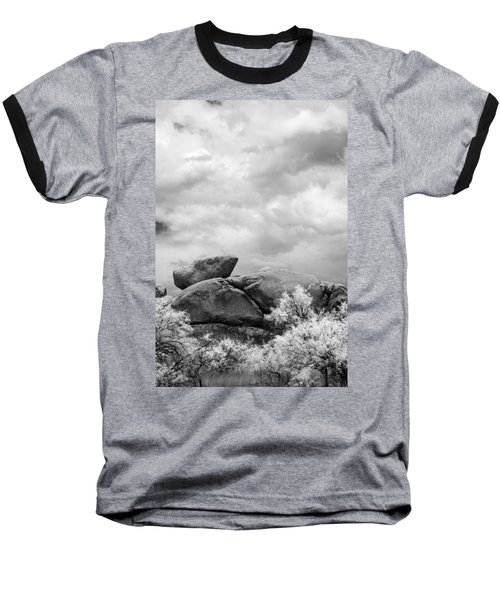 Boulders In Another Light Baseball T-Shirt