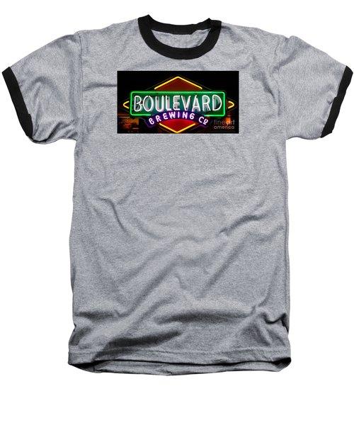 Boulevard Brewing Baseball T-Shirt by Kelly Awad