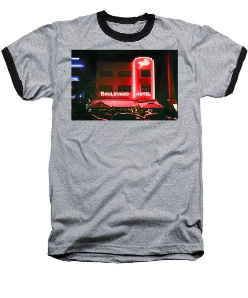 Boulevard Hotel Baseball T-Shirt