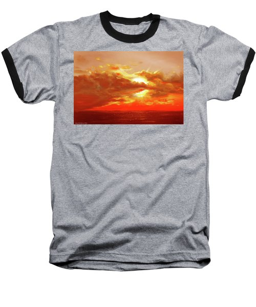 Bound Of Glory - Red Sunset  Baseball T-Shirt