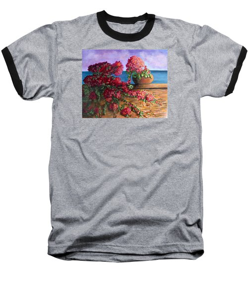 Bountiful Bougainvillea Baseball T-Shirt