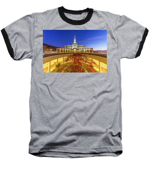 Bountiful Baseball T-Shirt by Dustin  LeFevre