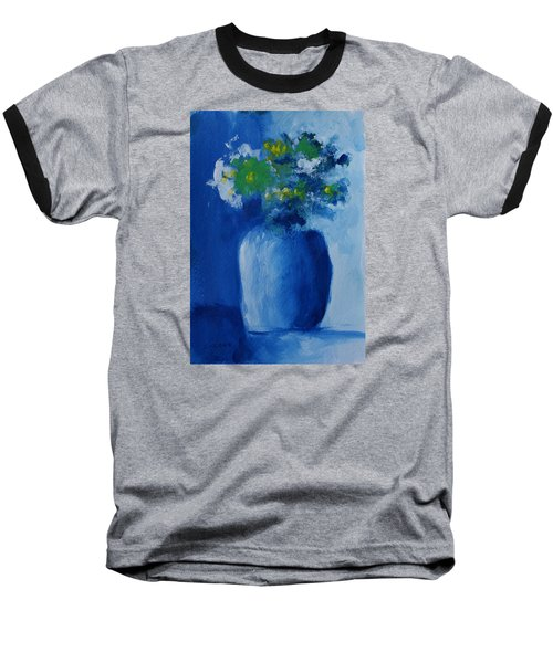 Bouquet In Blue Shadow Baseball T-Shirt