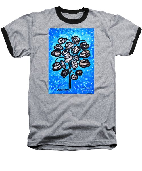 Bouquet Of White Poppies Baseball T-Shirt