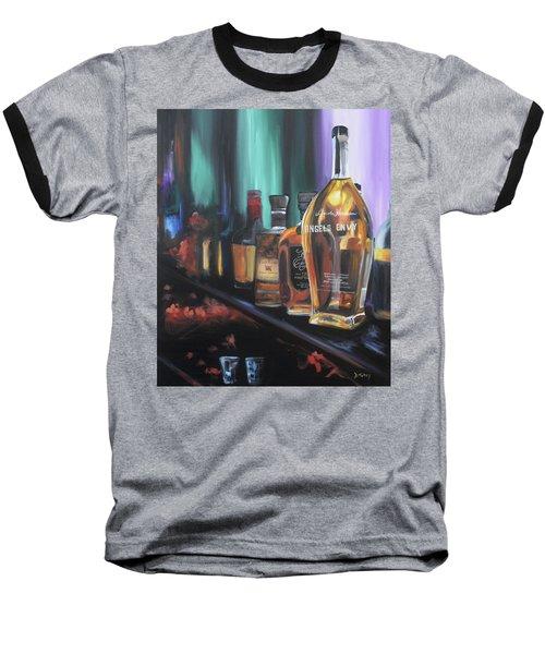 Bourbon Bar Baseball T-Shirt by Donna Tuten