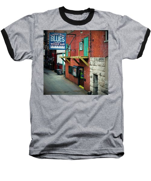 Bourbon Street Blues Baseball T-Shirt