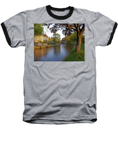 Bourton On The Water 3 Baseball T-Shirt