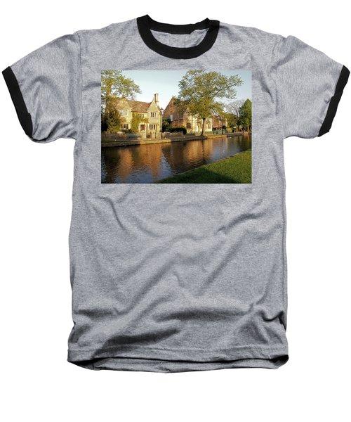 Bourton On The Water Baseball T-Shirt