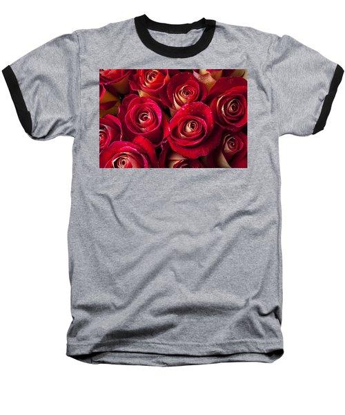 Boutique Roses Baseball T-Shirt