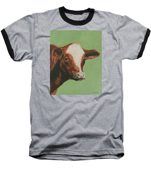 Bovine Beauty Baseball T-Shirt