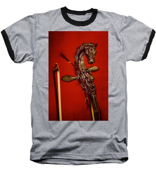 Bowed Lute Baseball T-Shirt