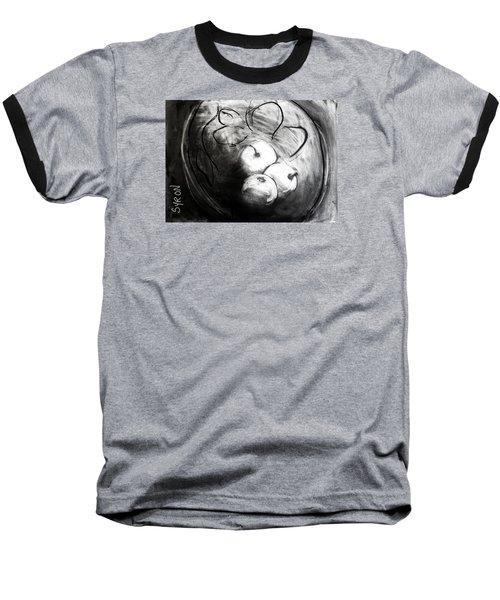 Bowl Baseball T-Shirt by Helen Syron