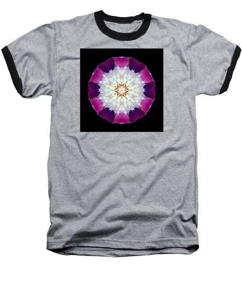 Bowl Of Beauty Peony II Flower Mandala Baseball T-Shirt by David J Bookbinder