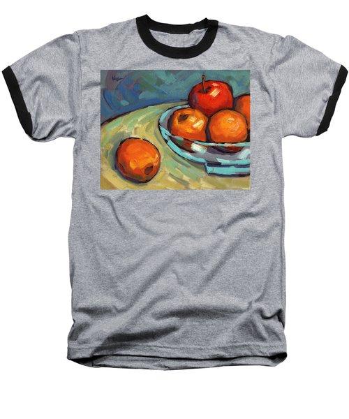 Bowl Of Fruit 2 Baseball T-Shirt