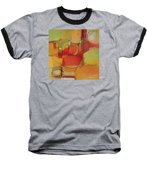 Baseball T-Shirt featuring the painting Bowl Of Fruit by Michelle Abrams