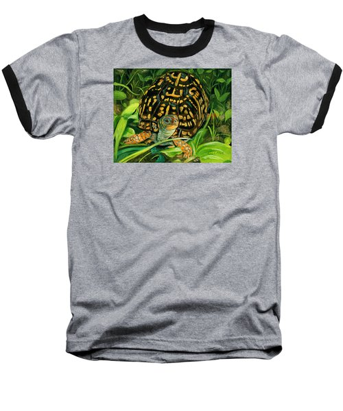 Box Turtle Baseball T-Shirt