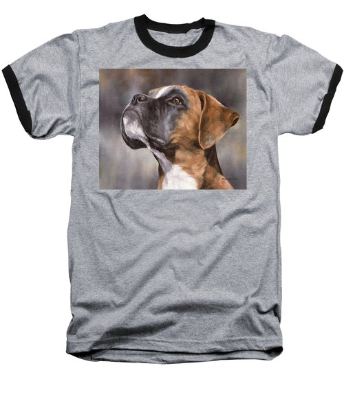 Boxer Painting Baseball T-Shirt